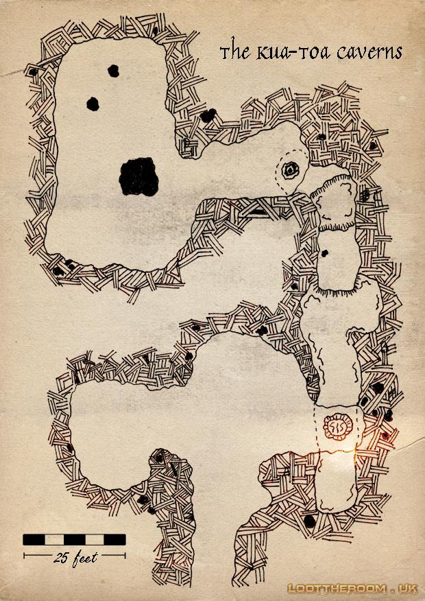 The Kua-Toa Caverns