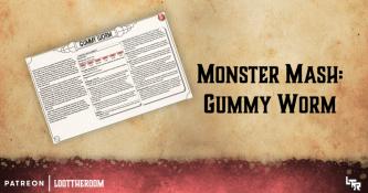 MonsterMash-GummyWorm - Artwork