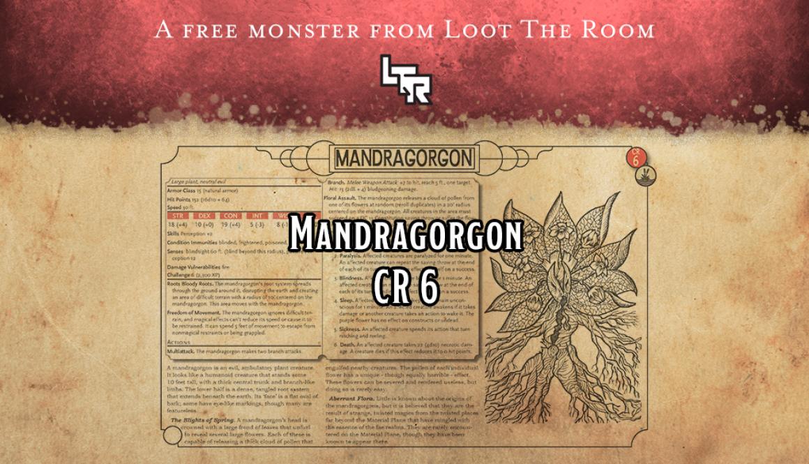 Monster-Mandragorgon