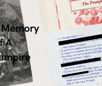 A Memory Of A Vampire